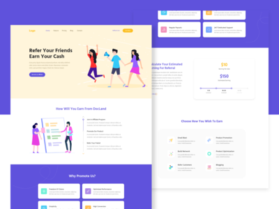 Affiliate Marketing Landing Page