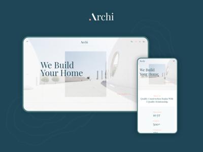 Archi | Architecture Portfolio Website