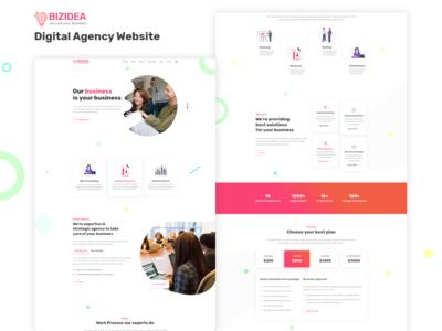 BIZIDEA | Business Agency Website