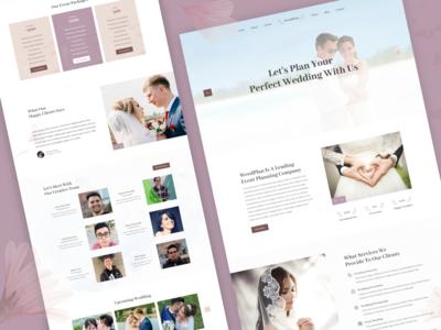WeddPlan | Wedding Planner Website