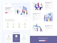 CopTeam | SaaS Landing Page