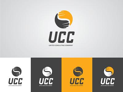 Logo United Consulting Company identity brand design logo