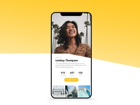Picture Sharing Social Media - Daily UI 006