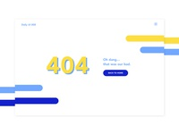 404 Page Daily UI 008