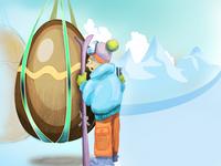 Easter Cabin