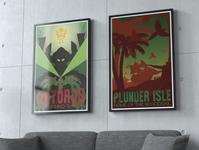 Warcraft Poster Set