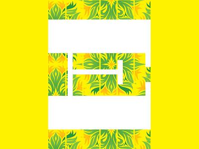 E grand rapids michigan personal project alphabet design stylization e letter