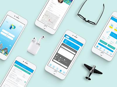 Predomo App study research process design ui ux user interface user experience app