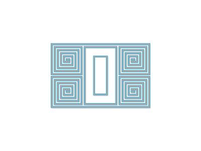 Doodle michigan personal project alphabet design d letter