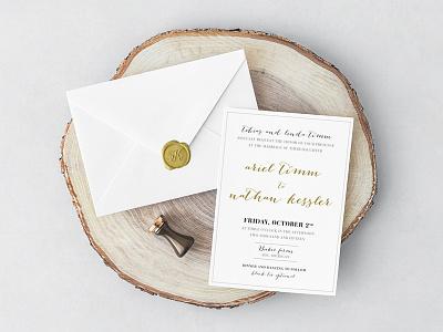 Wedding Invite Card design print card invite wedding