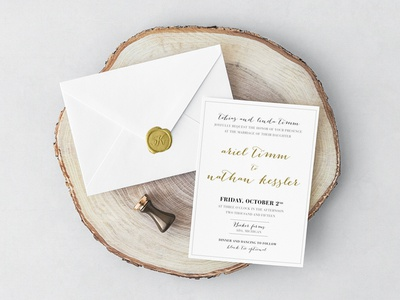 Wedding Invite Card design print card invite wedding