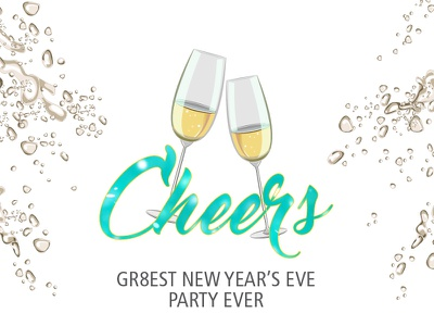 NYE Party celebration cheers champagne party nye filter snapchat