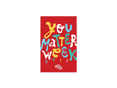 Ogilvy 'You Matter Week' poster 1