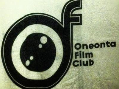 OFC logo apparel screenprint oneonta film club