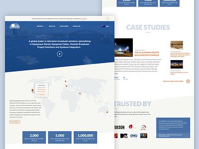 Homepage design typography layout website webdesign