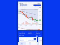 Mobile Cryptocurrency Exchange UI