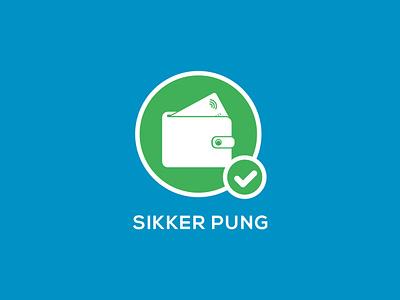 SIKKER PUNG graphic design branding design logo