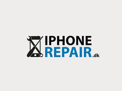 iPhoneRepair logo branding logo