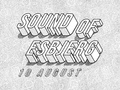 Sound of Esbjerg logo vector typography graphicdesign graphic design design branding