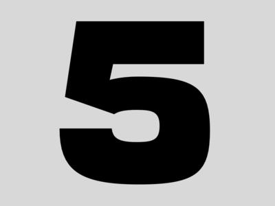 5 sans serif type design typeface font