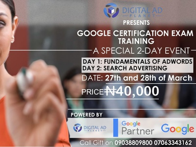 DigitalAdplanet Google Certification Exams Training googleads digitaladplanet google