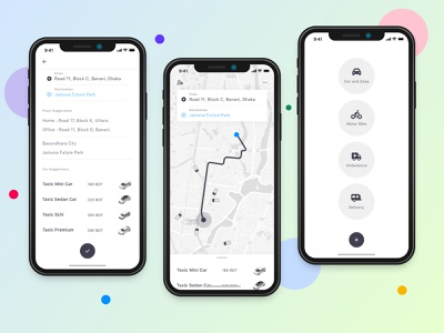 Ridesharing app mobile app clean minimal ui ui ux design concept pathao home delivery delivery service delivery app emergency bike ambulance ride sharing rideshare mobile ui mobile