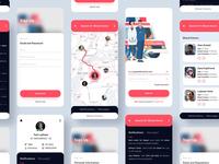 Medical App Design Concept