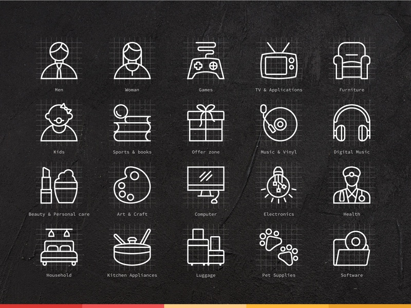 Ecommerce Icon Set ecommerce app icon iconset illustration art illustrations iconography free icons free icon icon set icons icon vector illustration vectorart vector art illustration vector minimal concept flat clean