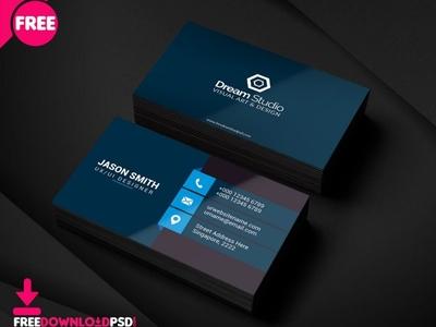 Clean Business Card Busines Card 800x640