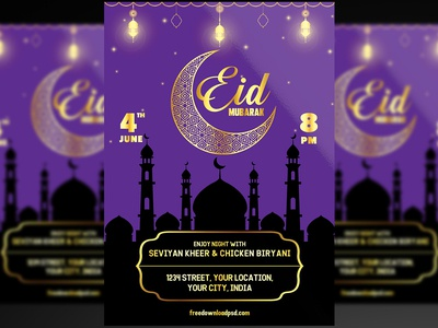 Eid Flyer + Social Media Post