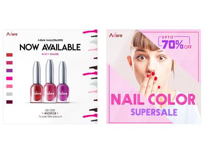 Nail-Color Social Media PSD