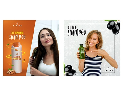 Almond and Olive Shampoo Social Media