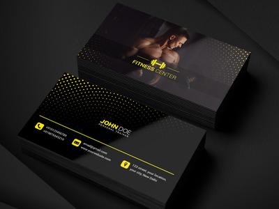 Gym Business Card