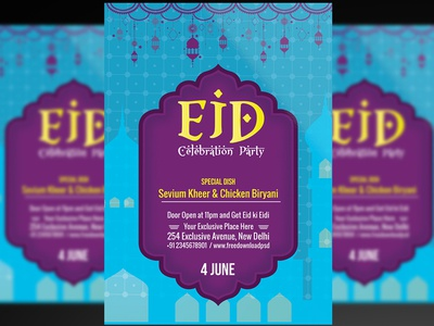 Eid Flyer + Social Media Template free psd flyers flyer design eid mubarak social media design social media eid mubarak social media eid mubarak flyer eid celebration social media eid celebration flyer eid eid flyer