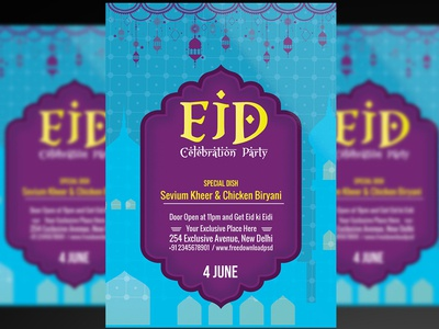 Eid Flyer + Social Media Template