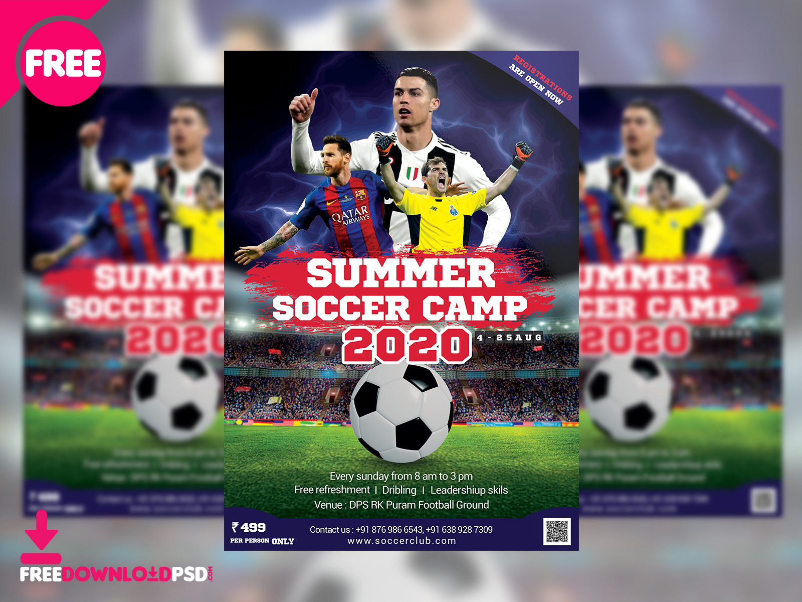 Soccer Camps Summer 2020.Summer Soccer Camp Flyer Free Psd By Pixelsquad On Dribbble