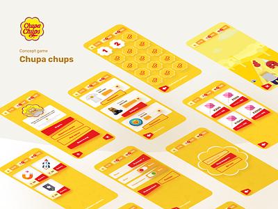 Chupa Chups ui  ux ux chupachups app app game game