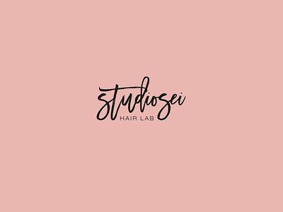 Studiosei | Hair Lab font logotype typography minimal mark logodesign design branding logo brand