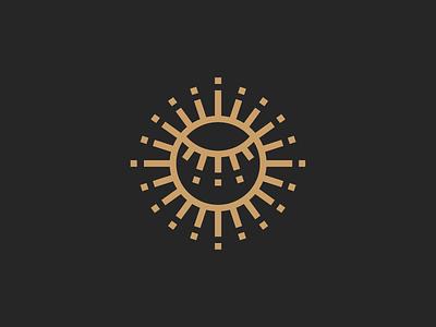 Sun + Eye mark solarium eye sun powersun identity brandidentity rebranding minimal mark logodesign design branding logo brand