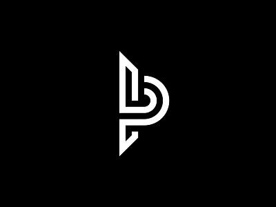 L+P personal branding identity minimal logo brand branding personal luca lp p l monogram