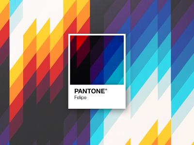 Pantone Felipe pantone art typography mark logotype logotipo font minimal logodesign design branding logo brand