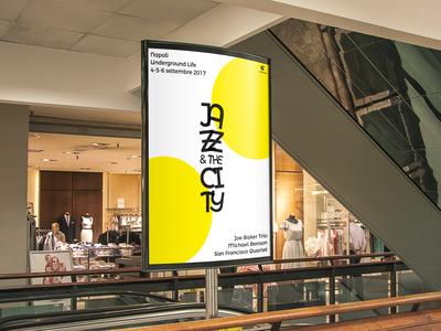 Jazz & the City poster billboard