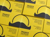 Franco Elettricità Business Cards