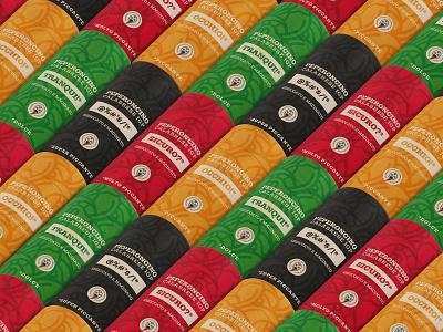 Pepertube pattern chili illustration corporate identity brandidentity art rebrand mockup rebranding typography logotype font minimal mark logodesign design branding logo brand