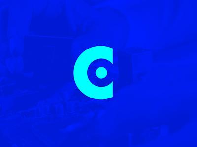 C+O Copyone monogram negativespace letter lettermark vector corporate monogram identity brandidentity art rebrand rebranding minimal mark logodesign design branding logo brand