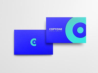 Copyone Business Cards icon vector stationery corporate monogram identity brandidentity mockup rebrand font rebranding typography logotype minimal mark logodesign design branding logo brand