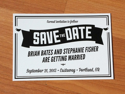 Save the Date postcard postcard wedding save the date invitation announcement
