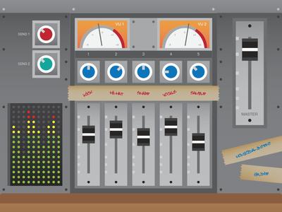 Mix Console mixer console mixing recording studio