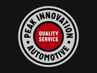 Automotive repair shop logo