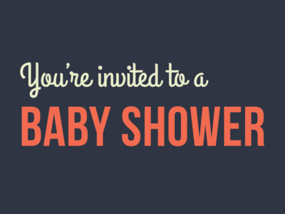 Invitation color invitation